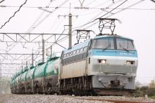 鉄道写真にチャレンジ!-5078レ EF66-101 + タキ(11B)