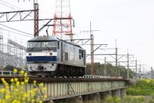 鉄道写真にチャレンジ!-5881レ EF210-136単機