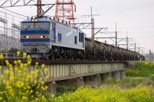 鉄道写真にチャレンジ!-5781レ EF510-504 + タキ + トキ