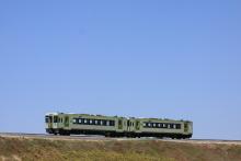 鉄道写真にチャレンジ!-8252D キハ110-113 + キハ110-114