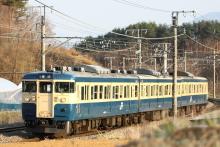 鉄道写真にチャレンジ!-347M 115系 トタM2