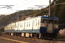 鉄道写真にチャレンジ!-348M 115系 トタM2