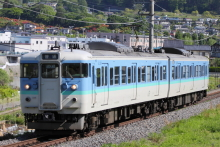 鉄道写真にチャレンジ!-155M 115系ナノN52 (2012.05.23)