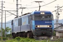 鉄道写真にチャレンジ!-2012.05.27 5460レ EH200-20