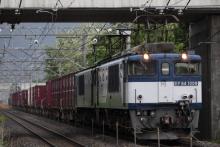 鉄道写真にチャレンジ!-81レ EF64-1009 + EF64-1048 + コキ
