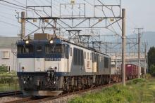 鉄道写真にチャレンジ!-81レ EF64-1025 + EF64-1019 + コキ