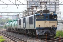 鉄道写真にチャレンジ!-3088レ EF64-1050 + EF64-1025 + タキ