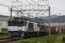 鉄道写真にチャレンジ!-81レ EF64-1004 + EF64-1016 + コキ
