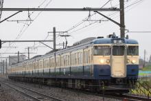 鉄道写真にチャレンジ!-115系 トタM1 + M10