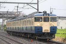 鉄道写真にチャレンジ!-115系 トタM12