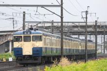 鉄道写真にチャレンジ!-115系 トタM8 + M5