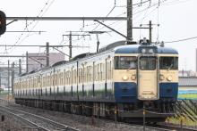 鉄道写真にチャレンジ!-115系 トタM6 + M4