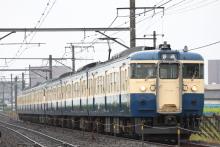 鉄道写真にチャレンジ!-115系 トタM5 + M8