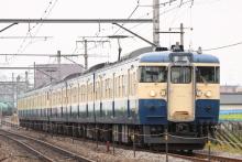 鉄道写真にチャレンジ!-115系 トタM5+M8