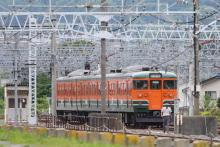 鉄道写真にチャレンジ!-115系 ナノN15 訓練車