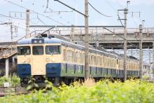 鉄道写真にチャレンジ!-543M 115系 トタM8+M5編成