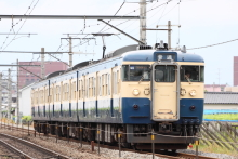 鉄道写真にチャレンジ!-336M 115系 トタM6編成