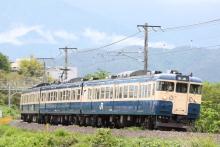 鉄道写真にチャレンジ!-345M 115系 トタM6編成