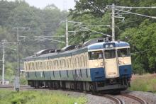 鉄道写真にチャレンジ!-346M 115系 トタM6編成