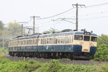 鉄道写真にチャレンジ!-347M 115系 トタM4編成