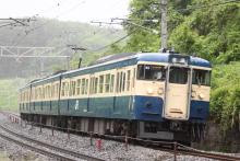 鉄道写真にチャレンジ!-348M 115系 トタM4編成