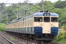 鉄道写真にチャレンジ!-549M 115系 トタM10+M12編成