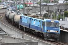 鉄道写真にチャレンジ!-5460レ EH200-901 + タキ