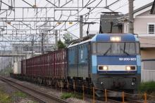 鉄道写真にチャレンジ!-2082レ EH200-901 + コキ