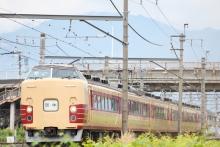 鉄道写真にチャレンジ!-9551M オオOM102 国鉄特急色編成