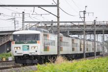 鉄道写真にチャレンジ!-9061M 185系 チタB4編成