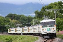 鉄道写真にチャレンジ!-9064M 185系 チタB4編成