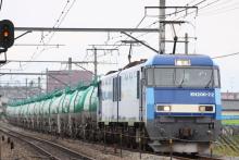 鉄道写真にチャレンジ!-80レ EH200-22 + タキ
