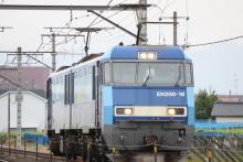 鉄道写真にチャレンジ!-2080レ(単?) EH200-18