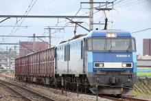 鉄道写真にチャレンジ!-82レ EH200-2 + コキ