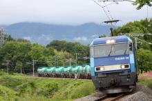 鉄道写真にチャレンジ!-2084レ EH200-14 + タキ