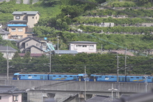 鉄道写真にチャレンジ!-5460レ EH200-16 + EH200-5(無動力?)