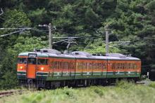 鉄道写真にチャレンジ!-試9164M 115系 ナノN15編成
