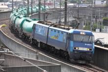 鉄道写真にチャレンジ!-2084レ EH200-9 + タキ
