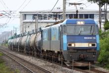 鉄道写真にチャレンジ!-5460レ EH200-13 + タキ