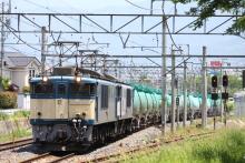 鉄道写真にチャレンジ!-3084レ EF64-1048 + EF64-10** + タキ