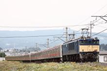 鉄道写真にチャレンジ!-配9432レ EF64-1032 + 205系元ケヨ9(4B)+4(4B)