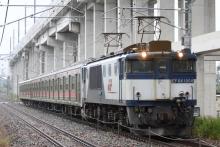 鉄道写真にチャレンジ!-9468レ EF64-1004 + 富士急行6000系