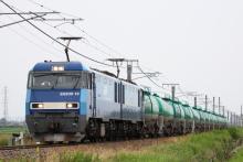 鉄道写真にチャレンジ!-2084レ EH200-19 + タキ
