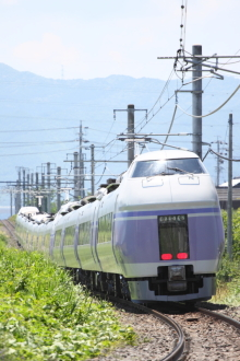 鉄道写真にチャレンジ!-試????M E351系 モトS1+S21編成