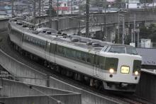 鉄道写真にチャレンジ!-回9498M 183・189系 ナノN103 旧あさま色編成