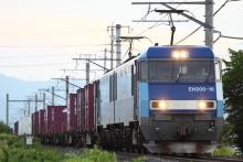 鉄道写真にチャレンジ!-2082レ EH200-16 + コキ