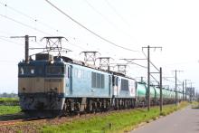 鉄道写真にチャレンジ!-3088レ EF64-1041 + EF64-1039 + タキ