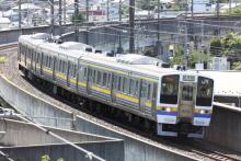 鉄道写真にチャレンジ!-試9570M 211系 ナノN305(3B)