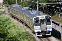 鉄道写真にチャレンジ!-試9571M 211系 ナノN305(3B)