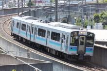 鉄道写真にチャレンジ!-1532M E127系 ナノA7編成